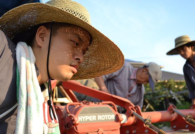 ぐいぐい農園-農業用トラクター3