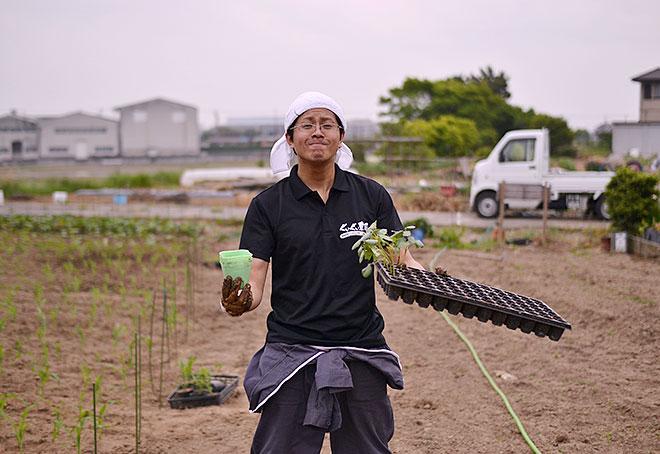 加藤仁士 ぐいぐい農園